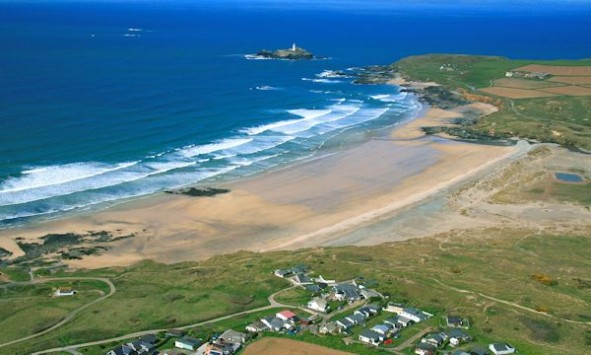Godrevy and Gwithian, Cornwall, Rosamunde Pilcher Location