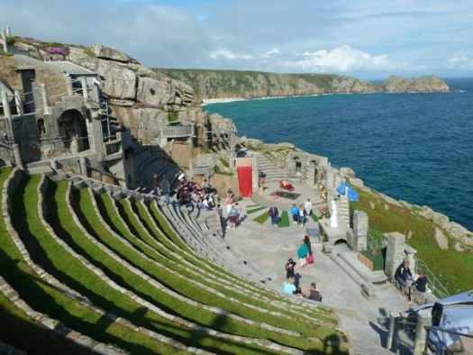 Minack Theatre, Cornwall, Rosamunde Pilcher Location