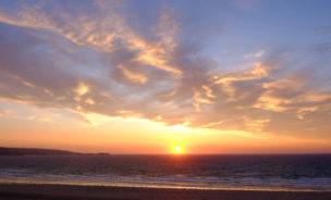 Sunset St Ives Bay