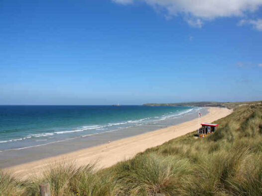 Beachside Holiday Beach St Ives Bay Cornwall