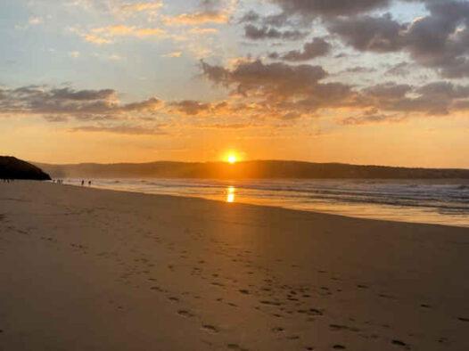 Beachside Holiday Park Sunset St Ives Bay
