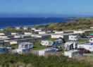 Beachside Holiday Park view of pitches and accommodation